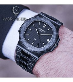 "Patek Philippe DiW Carbon Nautilus 5711 ""BLACK GRAIL"" (Retail:EUR 179990)"