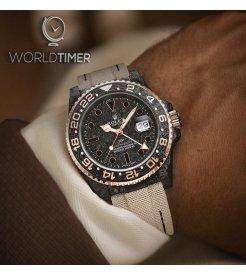 """Rolex DiW NTPT Carbon """"GMT Everose"""" (Retail:US$46,500)"""