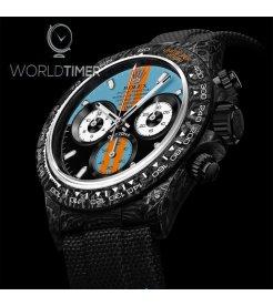 "Rolex DiW NTPT Carbon Daytona ""MONACO"" (Retail: US$55,500)"