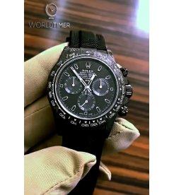 "Rolex DiW Carbon Daytona ""ALL BLACK"" (Retail:US$49,500)"
