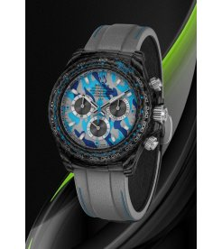 "Rolex DiW NTPT Carbon Daytona ""MILITARY BLUE"" (Retail:US$44,990)"