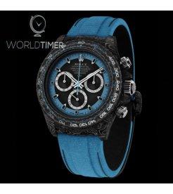"""Rolex DiW NTPT Carbon Daytona """"ELECTRO"""" (Retail:US$52,000)"""