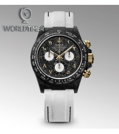 "Rolex DiW NTPT Carbon Daytona ""BLACK & WHITE"" (Retail:US$52,990)"