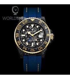 "Rolex DiW Carbon GMT-Master II ""Golden Sail"" (Retail:EUR 38490)"