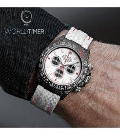 "Rolex DiW Carbon Daytona ""WHITE SPEEDSTER""(Retail:EUR 42990)"