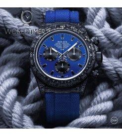 "Rolex DiW Carbon Daytona Panda ""MIAMI BLUE"" (Retail:US$49,500)"