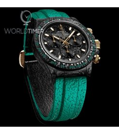 "Rolex DiW NTPT Carbon Daytona ""EMERALD"" Mens Watch (Retail:US$51,990)"