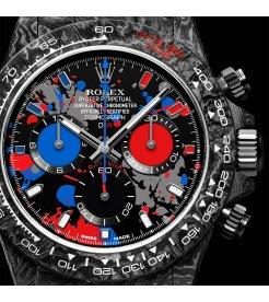 "Rolex DiW NTPT Carbon Daytona ""MOTLEY 3S"" (Retail:US$52,990)"