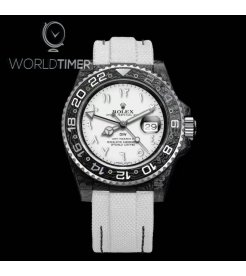 """Rolex DiW Carbon GMT-Master II """"SNOW WHITE"""" (Retail:EUR 34490)"""