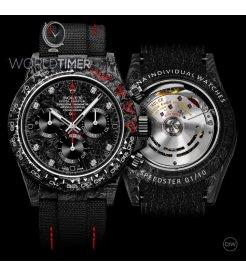 "Rolex DiW NTPT Carbon Daytona ""SPEEDSTER DIAMOND INDEX"" (Retail:US$44,990)"