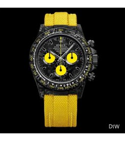 "Rolex DiW NTPT Carbon Daytona ""ALL CARBON LEMON EDITION"" (Retail:US$48,990)"