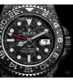 "Rolex DiW [NEW][LIMITED 10 PIECE] NTPT Carbon GMT-Master II ""All Carbon GMT"" (Retail: EUR 35990)"