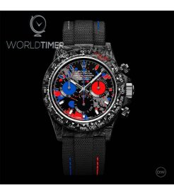"Rolex DiW NTPT Carbon PEPSI Daytona ""MOTLEY 3S"" (Retail:US$52,990)"