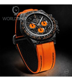 "Rolex DiW NTPT Carbon Daytona ""ALL CARBON ORANGE EDITION"" (Retail:US$52,990)"