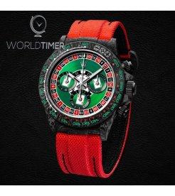 "Rolex DiW NTPT Carbon Daytona ""LUCKY PLAYER CASINO"" (Retail:US$55,000)"