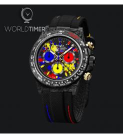 "Rolex DiW Carbon Daytona ""MOTLEY 3G"" (Retail:US$61,500)"