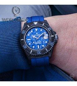 """Rolex DiW NTPT Carbon Sea-Dweller """"OCEAN BLUE"""" (Retail:EUR 37990)"""