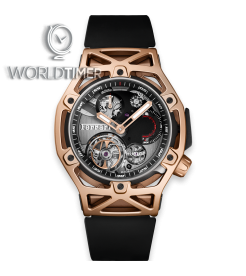 Hublot [NEW][LIMITED 70 PIECE] Big Bang Techframe Ferrari Tourbillon Chronograph 408.OI.0123.RX