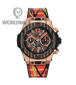 Hublot [NEW][LIMITED 100 PIECE] Big Bang Unico Teak Italia Independent 411.OQ.1189.NR.ITI18