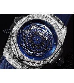 Hublot [NEW] 415.NX.7179.VR.1704.MXM18 Big Bang 45mm Sang Bleu Titanium