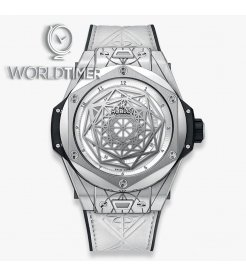 Hublot [NEW] 415.NX.2027.VR.1704.MXM18 Big Bang 45mm Sang Bleu Titanium Watch (Retail:HK$281,200)