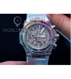 Hublot [NEW][LIMITED 50 PC] Big Bang Unico Sapphire Galaxy 411.JX.4803.RT.4098