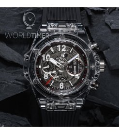 Hublot [NEW][LIMITED 500 PIECE] Big Bang UNICO Magic Sapphire 411.JX.1170.RX (Retail:HK$436,900)