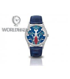 Patek Philippe [NEW+LIMITED] Turkish Motifs 5077/100G-018 Calatrava Cloisonné enamel dial