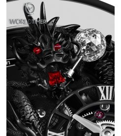 Jacob & Co. 捷克豹 [NEW] Astronomia Meteiers D'Art Black Dragon AT112.31.DR.UA.A (Retail: HK$8,800,000)