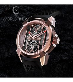 Jacob & Co. 捷克豹 [NEW] Epic X Rose Gold Satin-Finished EX100.43.PS.OP.A (Retail:HK$430,000)