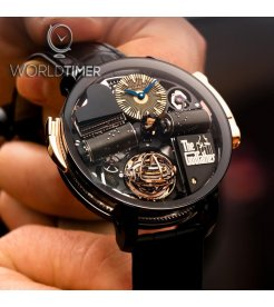 Jacob & Co. 捷克豹 [NEW] Opera Godfather Musical Watch With Black Barrels