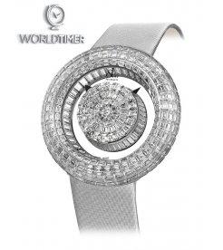 Jacob & Co. 捷克豹 [NEW][LIMITED 18 PIECE] Brilliant Mystery Baguette White Diamonds BM555.30.BD.BD.B (Retail:HK$4,581,600)