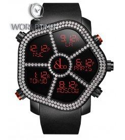 Jacob & Co. 捷克豹 [NEW] Ghost Two Rows White Diamonds Bezel GH100.11.RU.PB.A (Retail:HK$161,400)