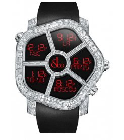Jacob & Co. 捷克豹 [NEW][LIMITED 6 PIECE] Ghost Full Baguette White Diamonds GH800.30.BD.BD.A (Retail:HK$5,727,000)