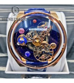 Jacob & Co. 捷克豹 Astronomia Solar Planets Tourbillon AS300.40.AP.AK.A (Retail:HK$2,939,900)
