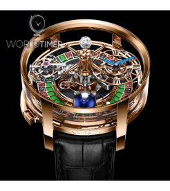 Jacob & Co. 捷克豹 [NEW] Astronomia Casino Green Roulette (Retail:HK$6,200,000)