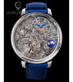 Jacob & Co. 捷克豹 [NEW MODEL] Astronomia Tourbillon Art Tiger Mens Watch