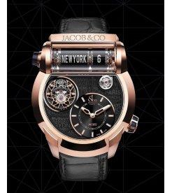 Jacob & Co.捷克豹 [NEW] Epic SF24 Rose Gold Tourbillon ES102.40.NS.LC.A (Retail:HK$1,672,000)