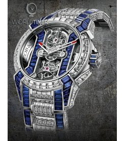 Jacob & Co. 捷克豹 [NEW] Epic X Tourbillon Bracelet EX500.30.BD.BB.A30BA (Retail:HK$10,976,800)