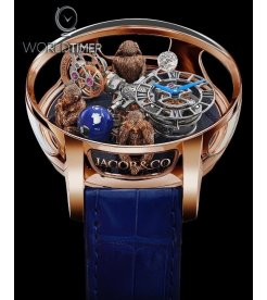 Jacob & Co. 捷克豹 [NEW] Astronomia 3 Monkeys Tourbillon AT102.40.AB.UA.A (Retail:HK$5,104,000)