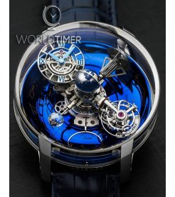 Jacob & Co. 捷克豹 [NEW][LIMITED 18 PIECE] Astronomia Sky Platinum Tourbillon AT110.60.AA.WD.A (Retail:HKD 6,512,000)