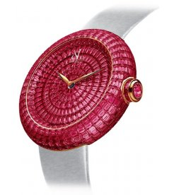 Jacob & Co. 捷克豹 [NEW][LIMITED 6 PIECE] Brilliant Full Baguette Ruby 44mm BA534.40.BR.BR.A (Retail:HK$4,772,500)