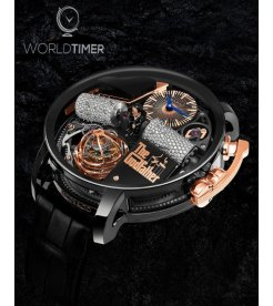 Jacob & Co. 捷克豹 [NEW] Opera Godfather Musical Watch With Icy Diamond Barrels OP110.21.AG.UB.ABALA