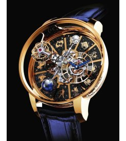 Jacob & Co. 捷克豹 [NEW MODEL] Astronomia Solar Zodiac Rose Gold AT100.40.AC.AB.B (Retail:US$540,000)
