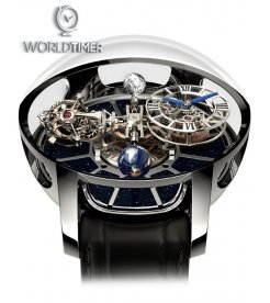 Jacob & Co. 捷克豹 [NEW][LIMITED 18 PIECE] Astronomia Tourbillon White Gold AT100.30.AC.SD.A (Retail:HK$5,154,300)