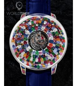Jacob & Co. 捷克豹 [NEW] The Mystery Tourbillon Multi-Colored Sapphires