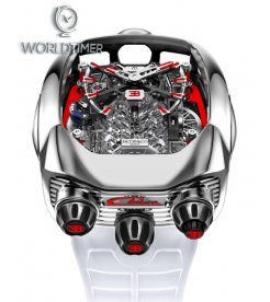 Jacob & Co. 捷克豹 [NEW] Bugatti Chiron 16 Cylinder Piston Engine Tourbillon