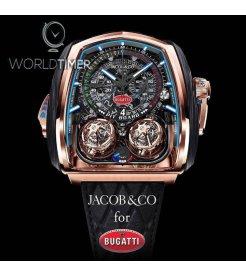 Jacob & Co. 捷克豹 [NEW]Twin Turbo Furious Bugatti Chiron TT200.40.AB.AB.A (Retail:HK$5,800,000)