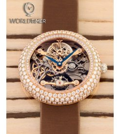Jacob & Co. 捷克豹 [NEW][LIMITED 101 PIECE] Brilliant Skeleton Jewelry Rose Gold BS431.40.RD.CB.A (Retail:HK$754,100)