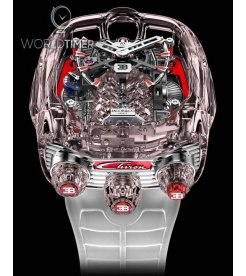 Jacob & Co. 捷克豹 Bugatti Chiron 16 Cylinder Piston Engine Tourbillon